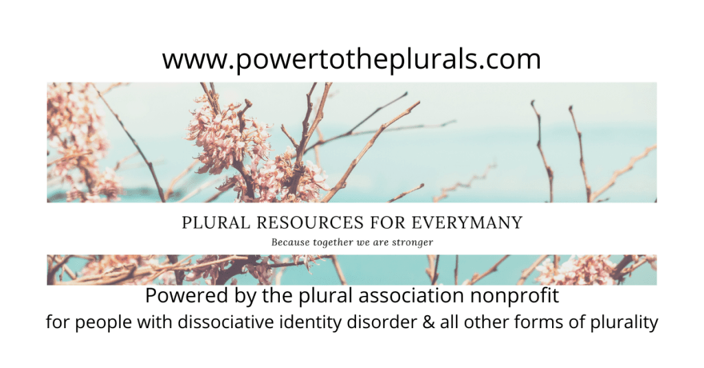How To From Crisis To Safety Plan For Dissociative Identity Disorder Powertotheplurals Com